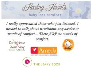 Baby Loss Comfort with Tula, Ameda, and Earth Mama Angel Baby