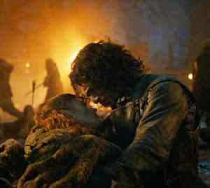 Ygritte dies square
