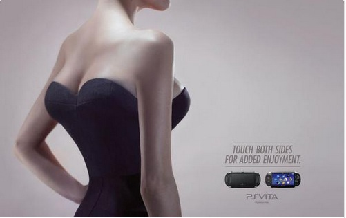 "Sony Pulled This Hot Playstation Ad Because People Cried ""Sexism"""