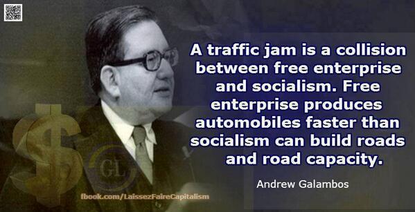 traffic socialism roads