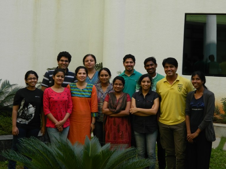 Richa's research team at IISER