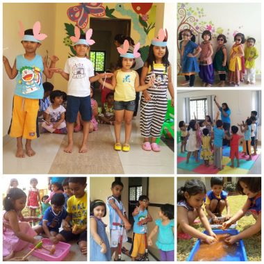Activities underway at IISER daycare