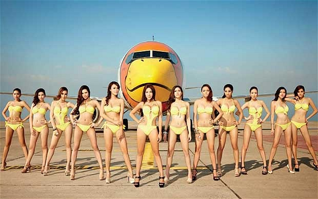 Skimpy Flight Attendants