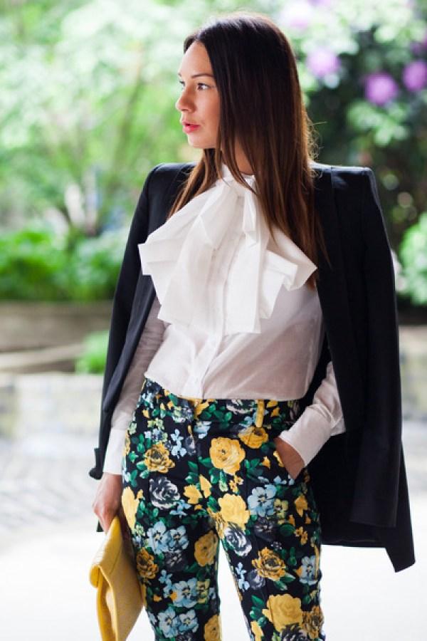 ASOS Floral pants