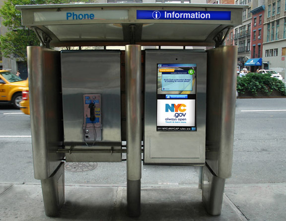 nyc pay phone