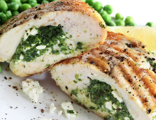 Spinach Stuffed Chicken