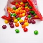 Skittles are popular vegan foods