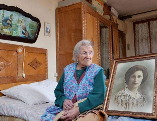 Italian Emma Morano is the world's oldest person alive born in the 1800s