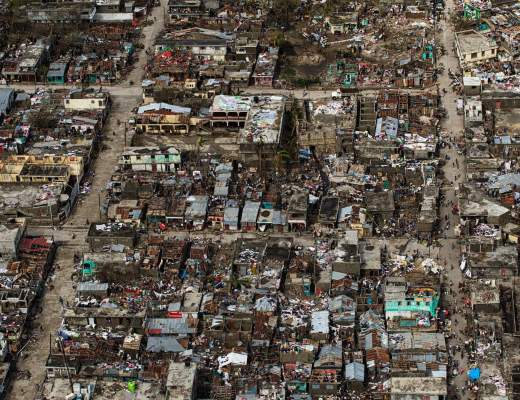 Aerial view of Haiti after Hurricane Matthew - Logan Abassi, via European Pressphoto Agency