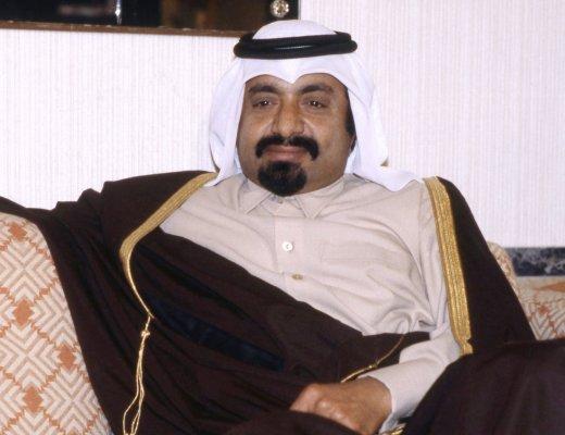 Former Emir of the State of Qatar Sheikh Khalifa bin Hamad al-Thani