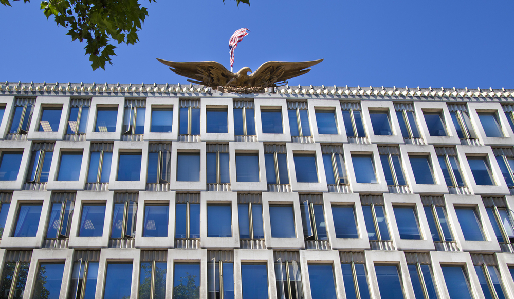 Qatari Diar bought the US Embassy in London