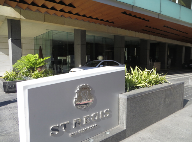 Qatar Investment Authority purchased the St. Regis hotel in San Francisco