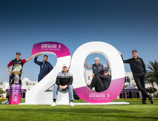 Commercial Bank Qatar Masters golf tournament 20 year anniversary