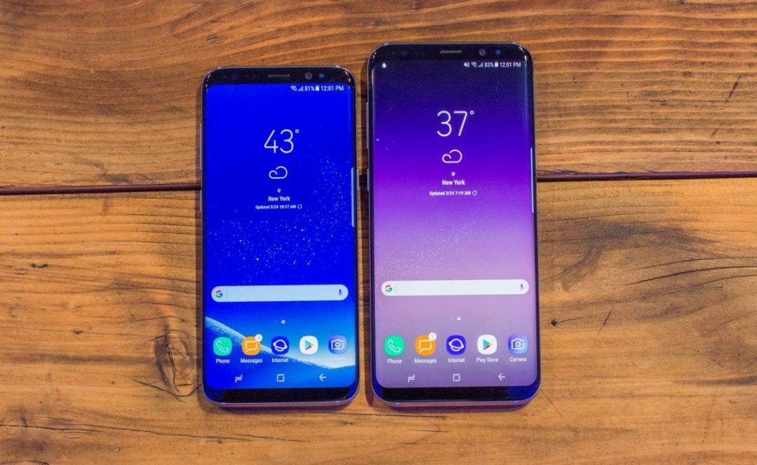 The Samsung Galaxy S8 - Antonio Villas-Boas/Business Insider