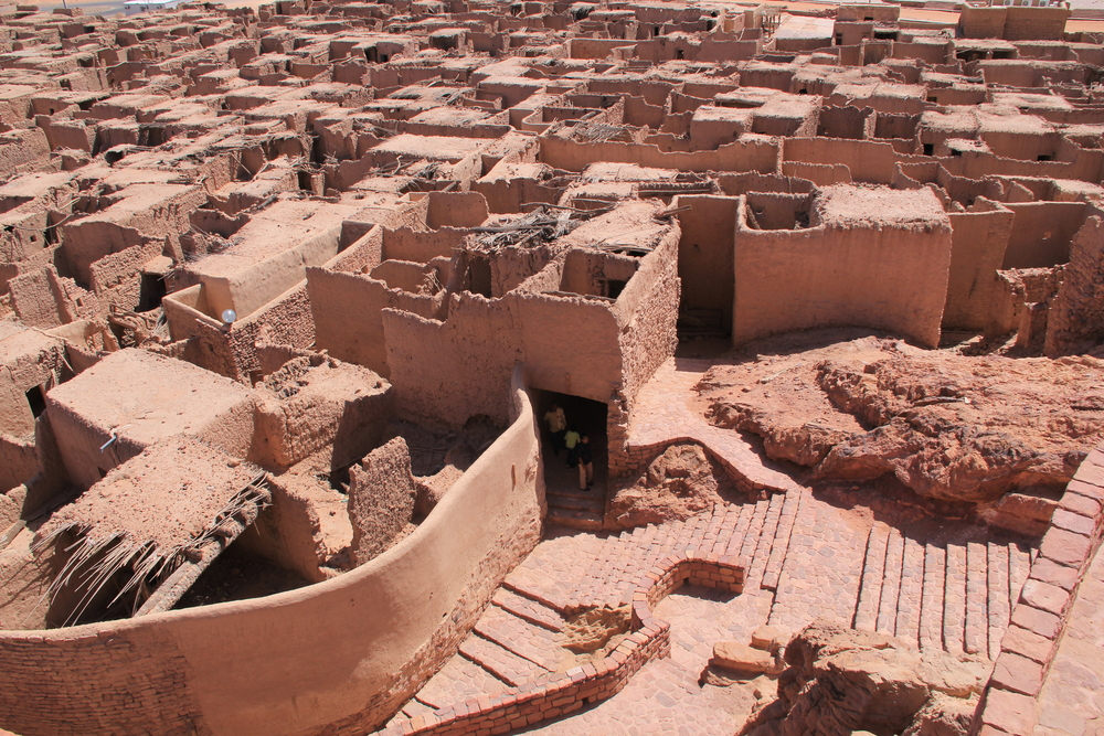 The residential area in Mada'in Saleh