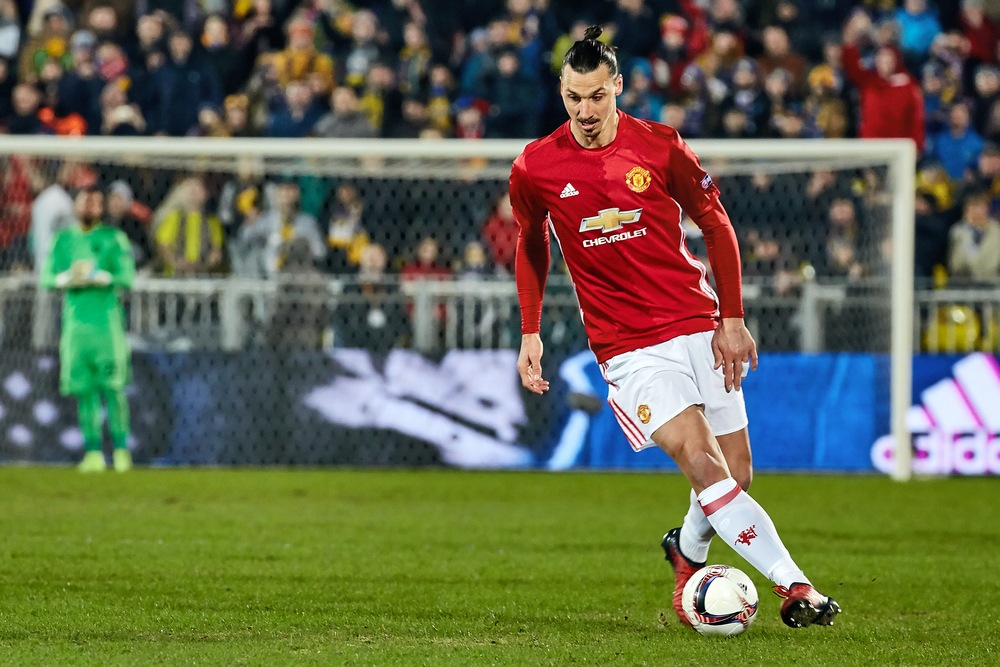 Zlatan Ibrahimovic in March, 2017