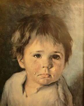 Crying Boy by Bragolin
