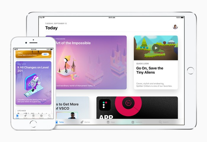 App Store in iOS 11 for Apple iPhone & iPad