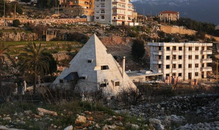 The Pyramid House , Miziara, Lebanon. All photos by Gaia Squarci. Vice