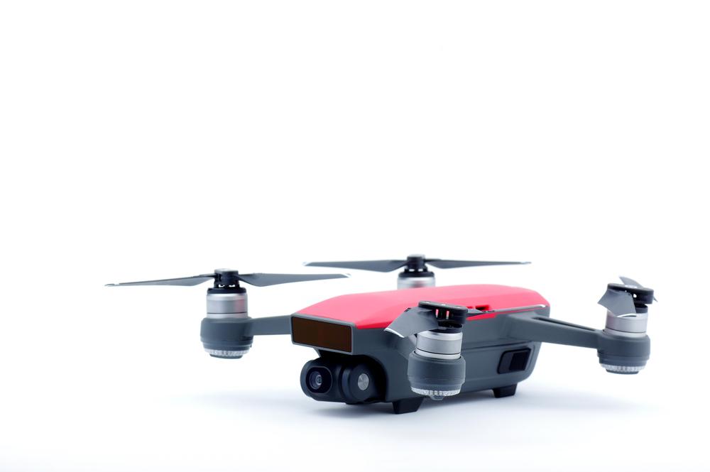 Selfie stick drone