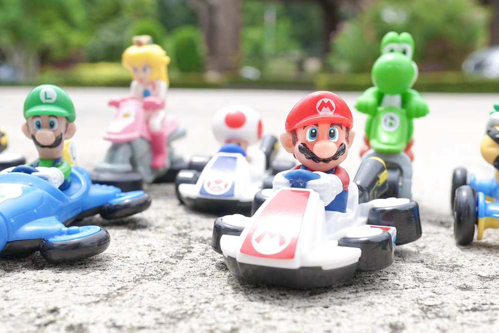 Nintendo have announced Super Mario Kart