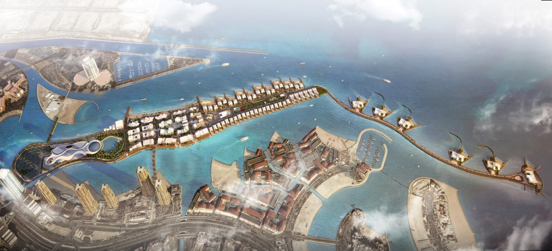 Gewan Island by UDC, right next to The Pearl-Qatar