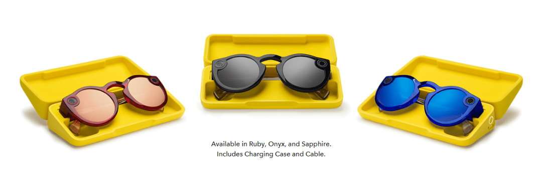 The new Spectacles are available in three colors - Snap Inc.