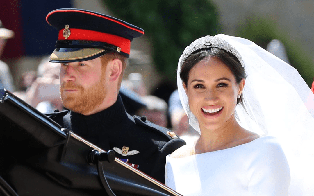 Meghan Markle married Prince Harry in a Royal Wedding