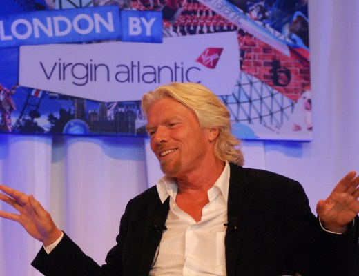 Virgin Galactic commercial space travel founder Richard Branson aspires to become space tourist