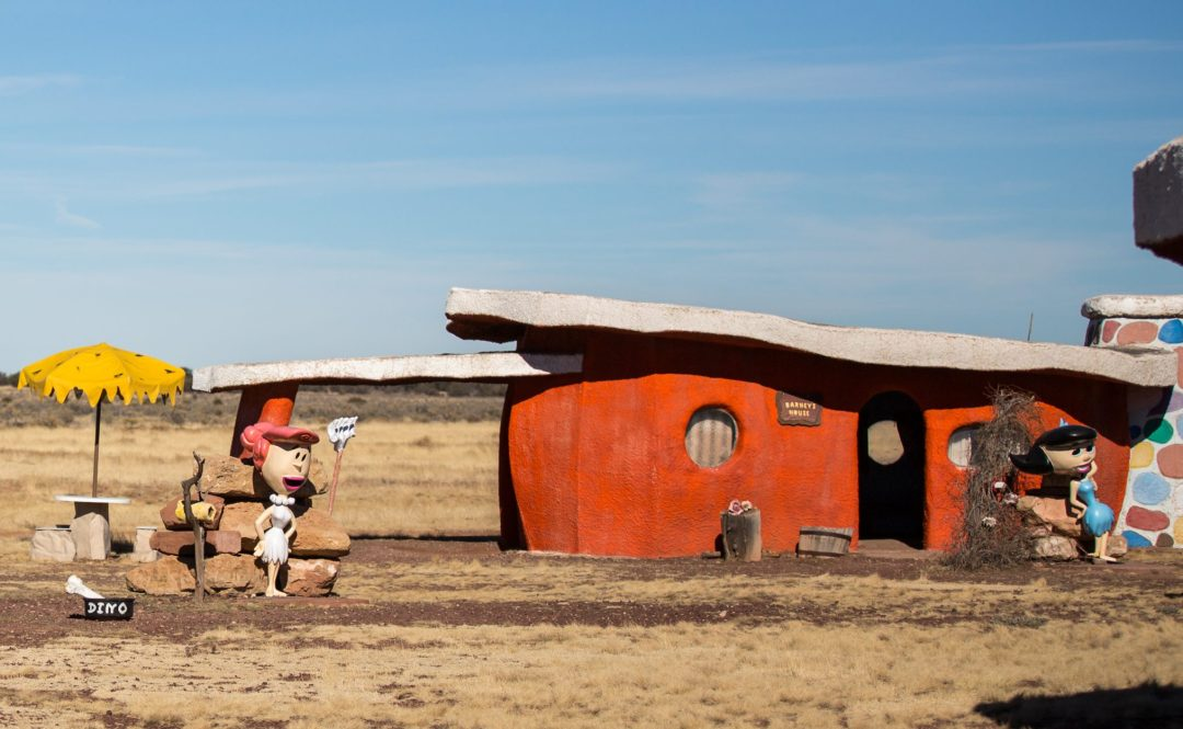 Bedrock city arizona is a theme park inspired by the Flintstones