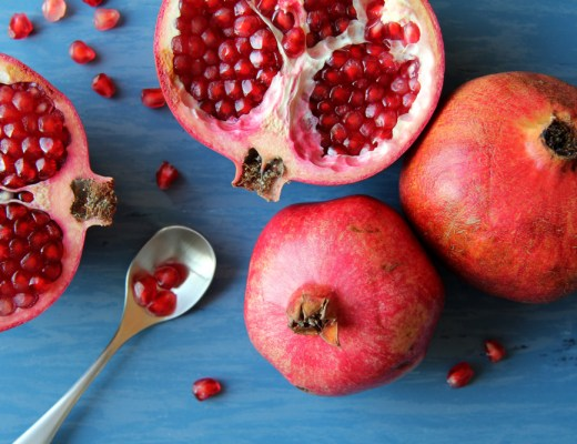 superfood pomegranate and juice is rich in antioxidants and vitamins