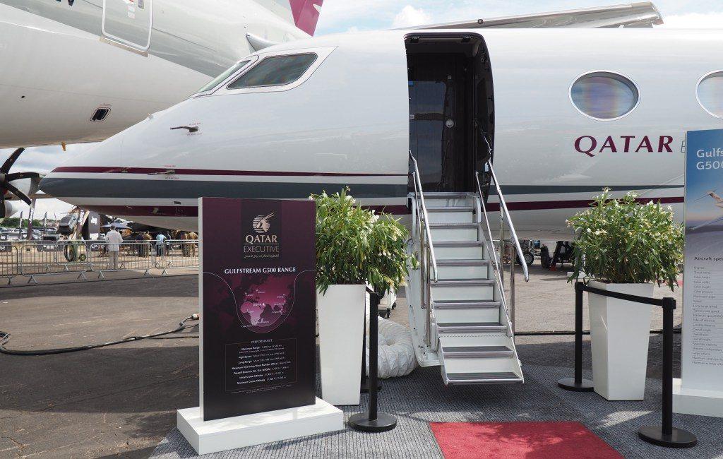 Qatar Executive unveiled luxurious private jets Gulfstream G500 - Qatar Airways