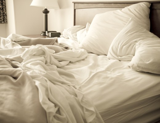 bed sheets and pillowcases are full of bacteria and fungi