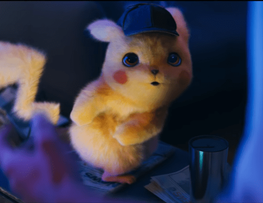 Ryan Reynolds stars as Detective Pikachu in a new Pokemon movie