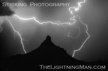BWFI strikes twice ban3002 Lightning Strikes   Horses Rear and Run    Photo