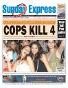 Front page of Trinidad Express, Feb 4 2007
