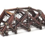 Patent number 205,799. Improvement in Truss-Bridges by William Irelan, Oak Springs, IA 1878