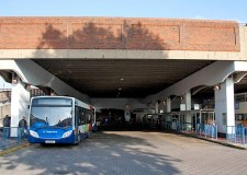 Lincoln bus station.