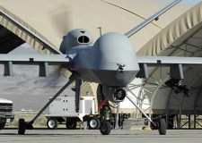 A Reaper MQ-9 Unmanned Aerial Vehicle (UAV)
