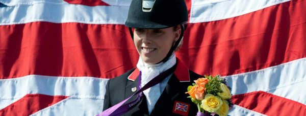 Sophie Wells at the 2012 London Paralympic Games. Photo: Leslie Bliss
