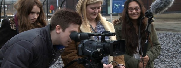 BFI Film Academy group