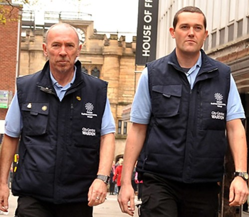 City wardens also patrol Lincoln, making it a cleaner, safer and more welcoming place.
