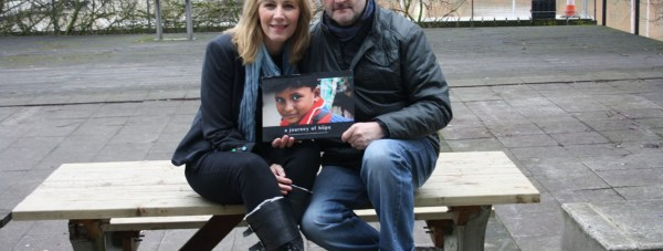 Maggie and Ed Sewell, photographers for the book, A Journey of Hope.