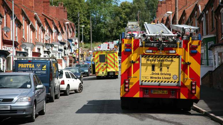 Firefighters called out to a blaze in Lincoln