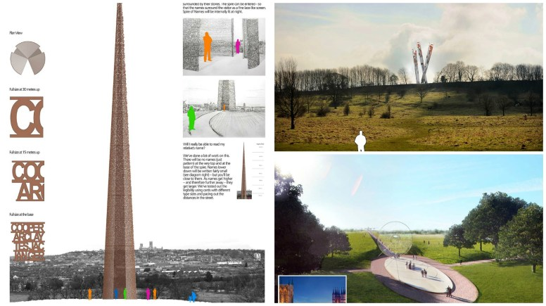 Lincolnshire Bomber Command Memorial Collage