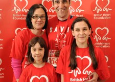 Cardiologist David O'Brien and his family. Photo: Danny Fitzpatrick