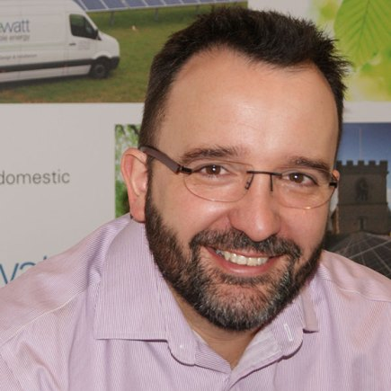 Freewatt owner and previous Managing Director Julian Patrick, now the CEO of Freewatt Group.
