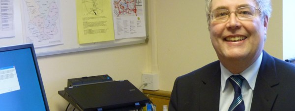 Dr Tony Hill. Photo: Lincolnshire County Council
