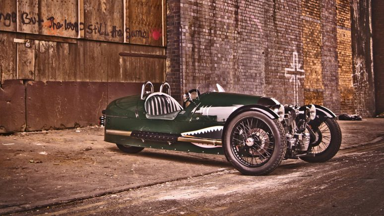 Morgan's relaunched three-wheel model. Photo: Morgan Motor Company