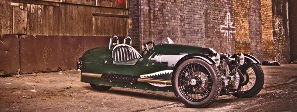 Morgan's relaunched three-wheel model. Photo: Morgan Motor Company
